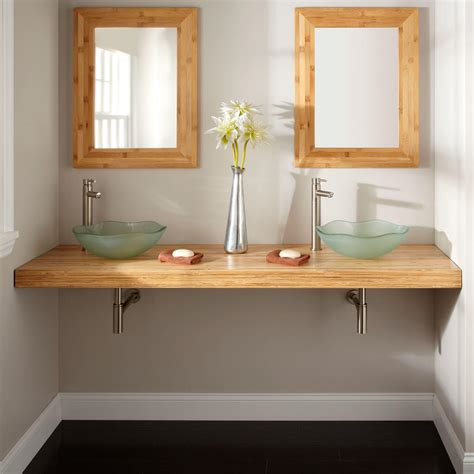 yannis wall mount vessel sink  piece vanity set bathroom