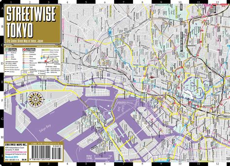 streetwise tokyo map laminated city center map of tokyo japan michelin streetwise maps books maps update 870617 tokyo tourist map six railway