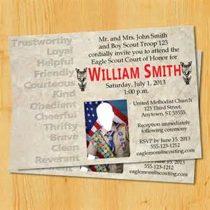 Eagle Scout Invitation Template by Eagle Scout Court Of Honor Invitation Template