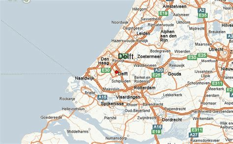 netherlands map delft delft location guide