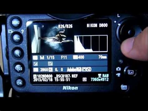 tutorial video nikon d800 how to set up your nikon d810 for hdr bracketing the easy