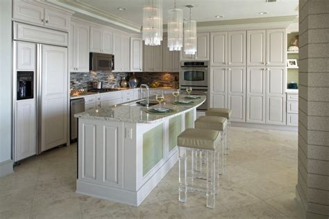 Island Stools Chairs Kitchen by Acrylic Bar Stools For Those With Nothing To Hide