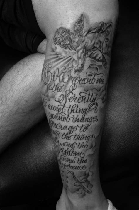 serenity prayer tattoo designs serenity prayer tattoos designs ideas and meaning