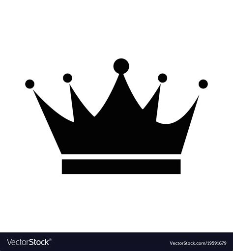 king crown images king crown isolated icon royalty free vector image