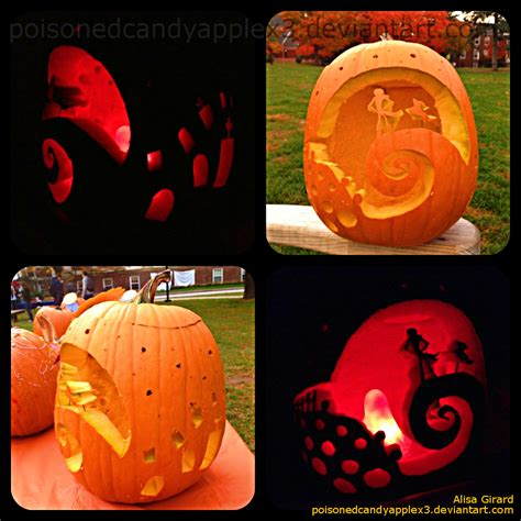 christmas pumpkin the nightmare before pumpkin carving 2 by odiefarber on deviantart
