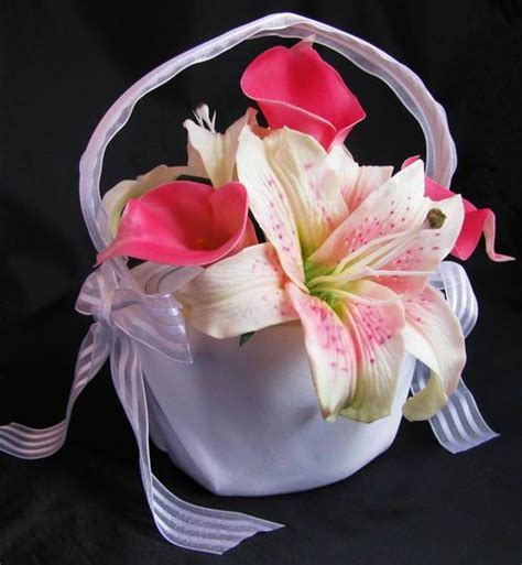 Baskets : DebbieCoFlowers.com, Silk Wedding Bouquets