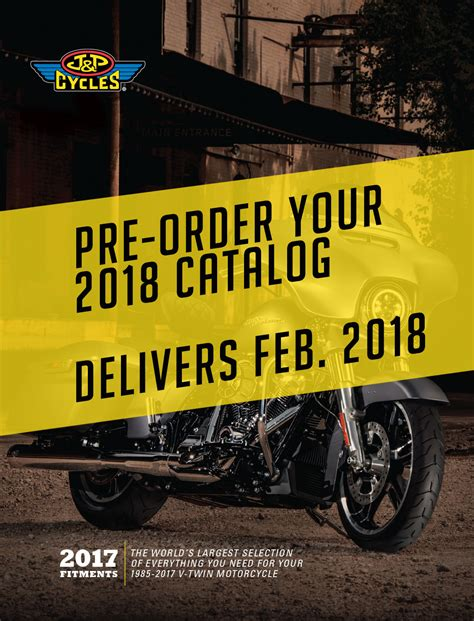 j catalog j p cycles free motorcycle parts and accessories catalogs