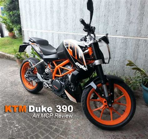 Review: KTM Duke 390   Motorcycle Philippines
