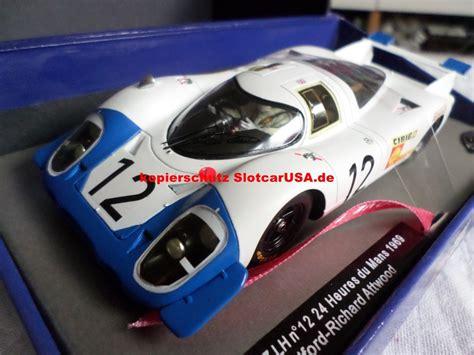 Stellen Porsche by Porsche 917 Lh Nr 12 24h Le Mans 1969 Fahrer Vic Elford