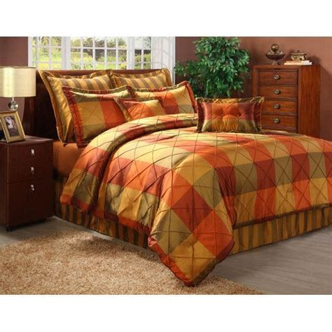 burnt orange comforter set queen in decorative bruce lee