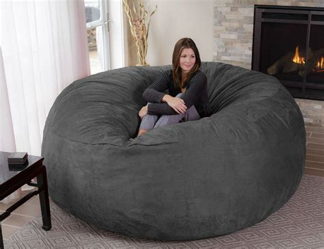 Lovesac Sofa Oversized Enveloping Chairs Big Bean Bag