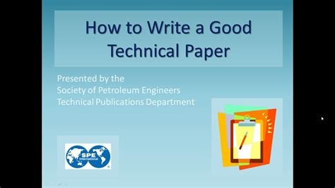 how to write a technical paper how to write a technical paper