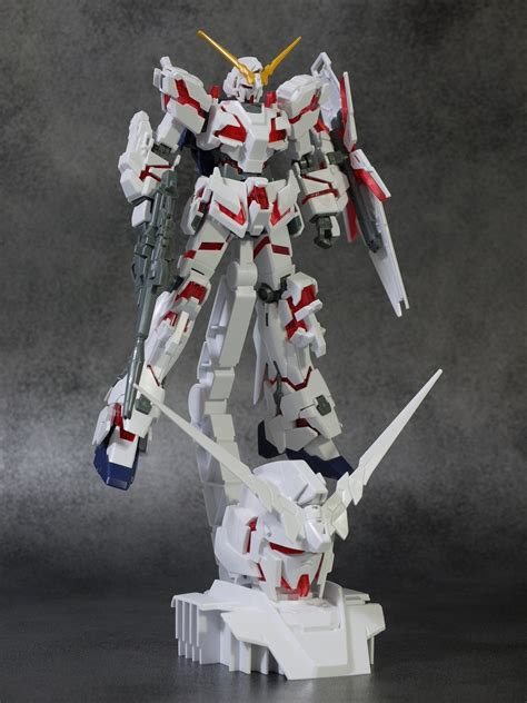 Rx 0 Unicorn Gundam Display Base limited hguc 1 144 rx 0 unicorn gundam destroy mode 1 48 display base ebay