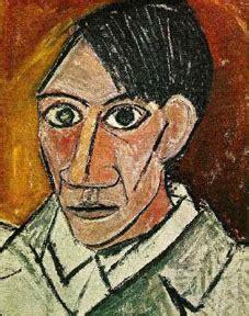 picasso self portrait cubism eyeconart cubism
