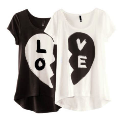 Kaos Best Friend For shirt bff white black lo ve blouse bff bff