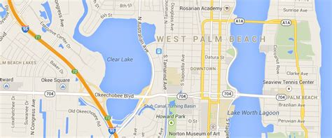 west palm map west palm bicycle lawyer cyclist guide