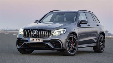 2018 mercedes amg glc 63 suv and coupe debut before new