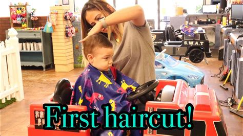 lilias first haircut youtube my sons first haircut youtube