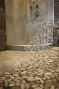 ideas about river rock bathroom pinterest basement back gallery for tile