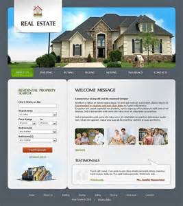 template real estate real estate agency website template 20594