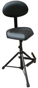 k m folding tripod stool with optional backrest and