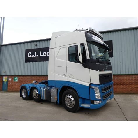 volvo commercial vans volvo fh4 500 6x2 tractor unit 2013 volvo from cj