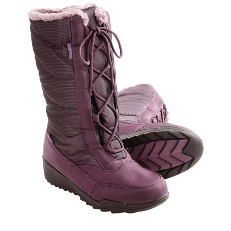 kamik bordeaux snow boots waterproof insulated for