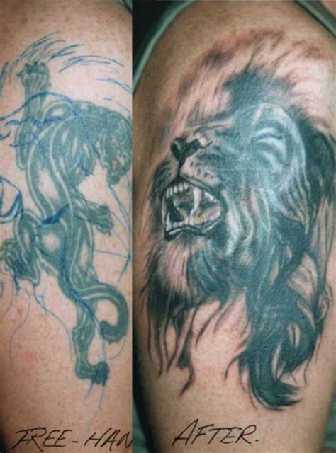 lion cover up tattoo free cover up picture at checkoutmyink