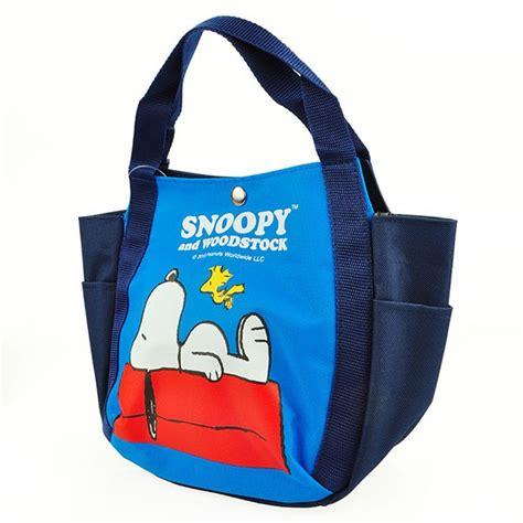 snoopy lunch tote bag peanuts snoopy tote bag handbag lunch bag bag roof