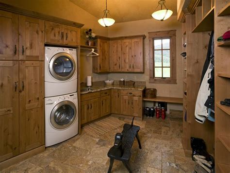 rustic cabinets for laundry room 29 best laundry rooms we