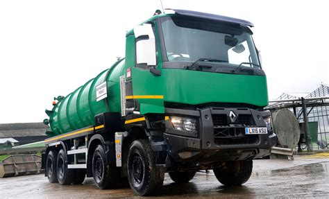 renault trucks range k is powerhouse road for robin