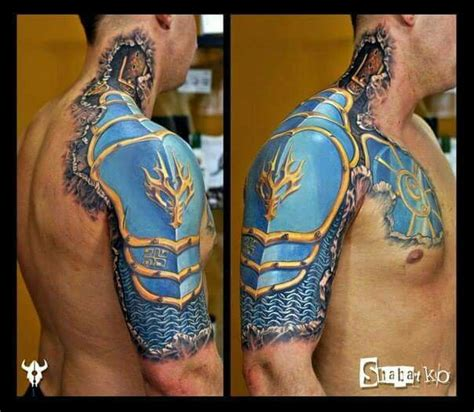 tattoo 3d armor 59 best images about shoulder armor tattoo on pinterest
