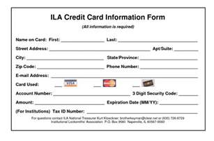 credit card information form template 28 images credit card information form 2 free