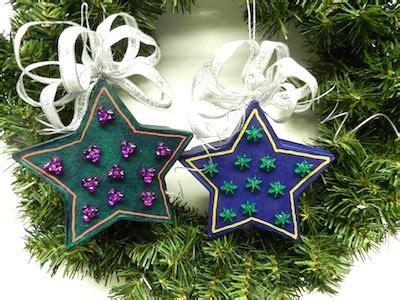sewing  crafting  sarah homemade star christmas