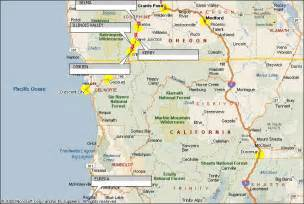 florence oregon map oregon florence sour biscuit area map