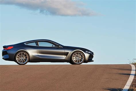 bmw concept 2017 2017 bmw 8 series coupe concept left side autobics