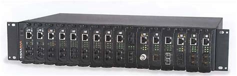 Rack Unit Converter by Midsouthcable Signamax 16 Bay Media Converter Rack