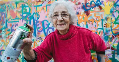 cool elderly street artists destroy graffiti stereotypes