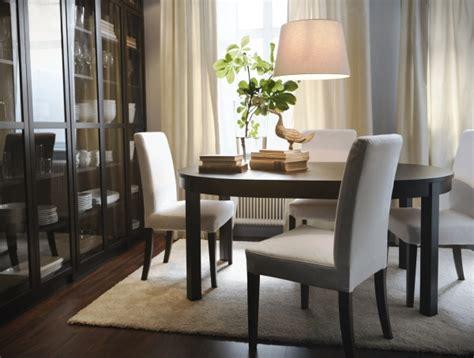 ikea dining room lookbook pinterest a bjursta round extendable table makes the conversation