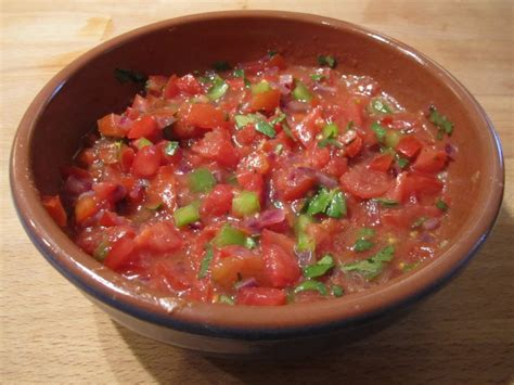 tomato salsa recipe mexican food recipes