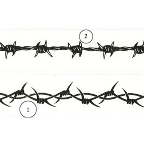 tattoo fixers zombie barbed wire 6 quot barbed wire wrist band tattoo