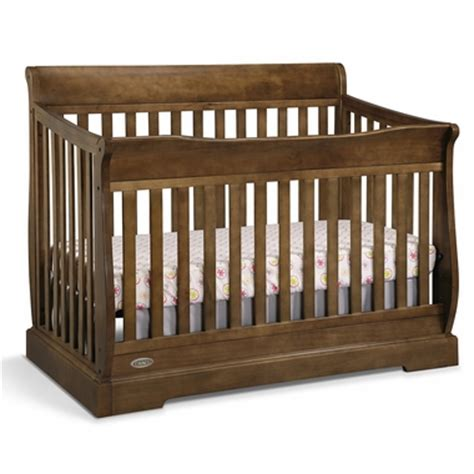baby crib brown graco cribs maple ridge 4 in 1 convertible crib in dove