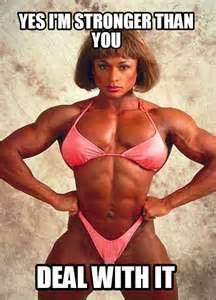 Muscle Woman Meme - memes and motivational posters 7 femuscleblog