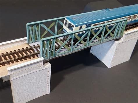 Pont A Treillis by Pont 224 Treillis Voie Unique Voie Droit Biais Cul 233 Es