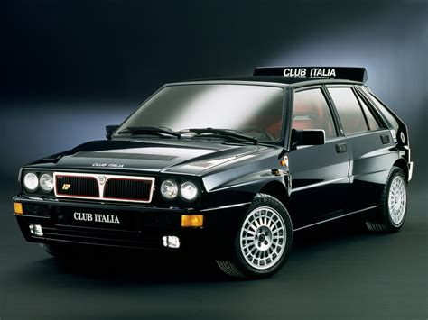 Lancia Delta Club 1987 Lancia Delta Hf Integrale Milestones