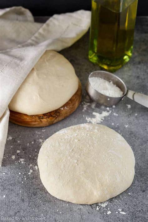 Handmade Pizza Dough - pizza dough recipe baked by an introvert