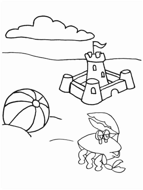 coloring pages summer janice s daycare seasons summer