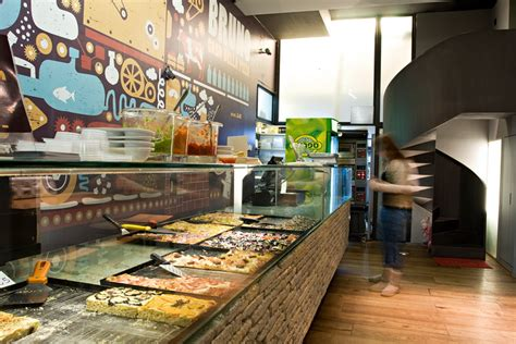 Pizza Shop Interior Design by Bruno Pizza Place Leggenda By So Architecture