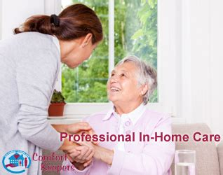 comfort keepers in home care santa clarita in home care services