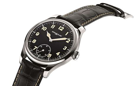 Mont Blanc Small montblanc 1858 automatic small second replica